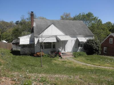 Roanoke VA Single Family Home For Sale: $139,000
