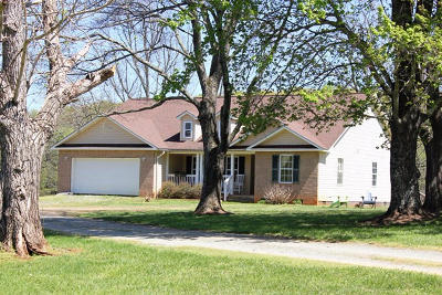 Rocky Mount Single Family Home For Sale: 955 Toms Knob Rd