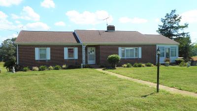 Rocky Mount Single Family Home For Sale: 464 Mount Carmel Rd