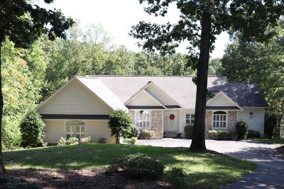 Bedford County, Franklin County, Pittsylvania County Single Family Home For Sale: 465 Island Pointe Ln
