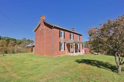 Botetourt County Single Family Home For Sale: 830 Old Sessler Mill Rd