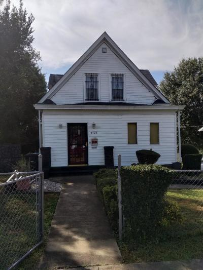 Roanoke City County Single Family Home For Sale: 2426 Staunton Ave NW