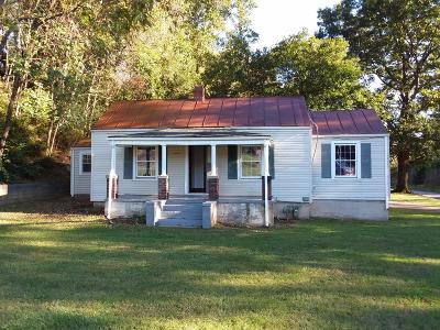 Roanoke City County Single Family Home For Sale: 4165 Carson Rd