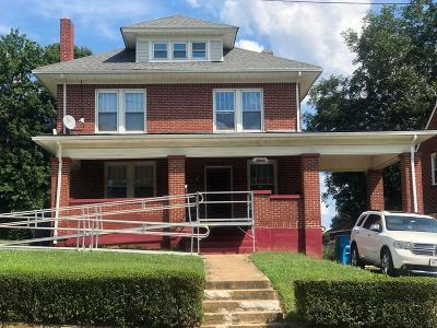 Roanoke City County Single Family Home For Sale: 1005 Palmetto St NW