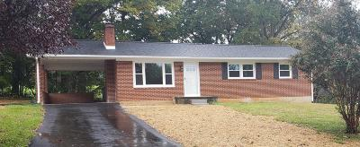 Rocky Mount Single Family Home For Sale: 230 Hilltop Dr