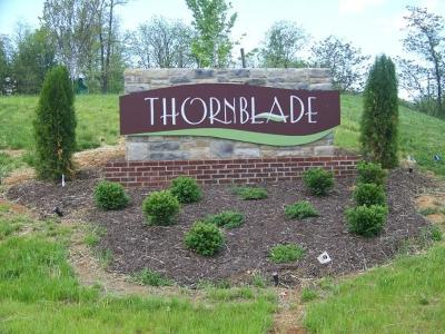 Residential Lots & Land For Sale: Lot 33 Thornblade Way