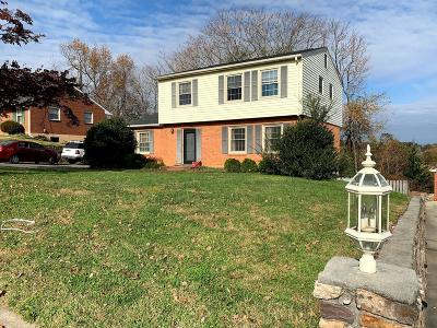 Roanoke Single Family Home For Sale: 3009 Glenmont Dr
