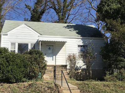 Roanoke City County Single Family Home For Sale: 2025 Wayne St NE