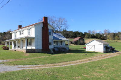 Botetourt County Farm For Sale: 15709 Lee Hwy