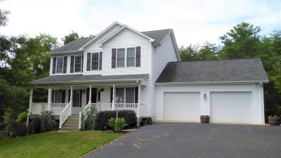 Boones Mill Single Family Home For Sale: 110 Oak Garden Dr