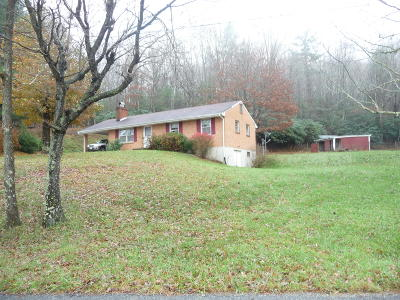 Bent Mountain Single Family Home For Sale: 11008 Rocky Rd
