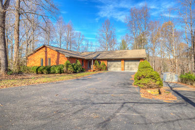 Franklin County Single Family Home For Sale: 487 Teel Brooke Rd
