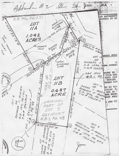 Residential Lots & Land For Sale: Oakwood Dr SW