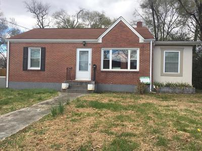 Roanoke Single Family Home For Sale: 2532 Chatham St NW