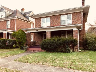 Roanoke VA Single Family Home For Sale: $120,000