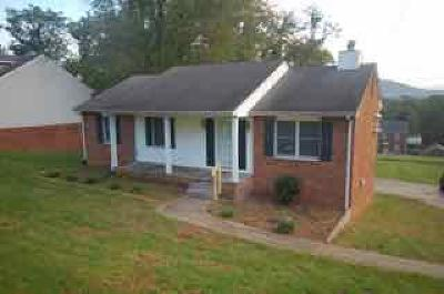Roanoke VA Single Family Home For Sale: $143,500