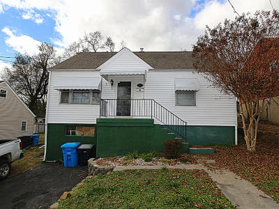 Roanoke VA Single Family Home For Sale: $89,950