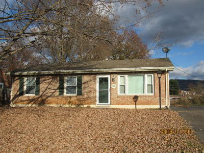 Roanoke VA Single Family Home For Sale: $129,950