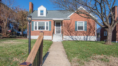 Roanoke VA Single Family Home For Sale: $167,500