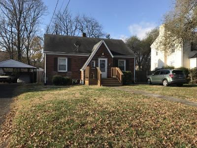 Roanoke Single Family Home For Sale: 4314 Delray St NW
