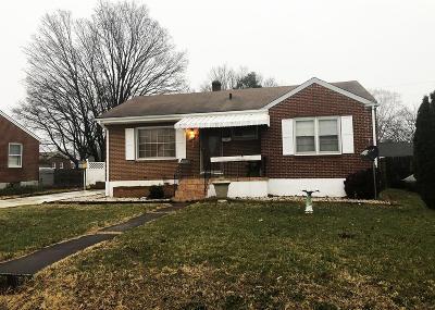 Roanoke City County Single Family Home For Sale: 136 Trinkle Ave NE