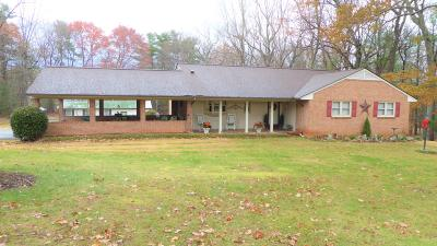 Rocky Mount Single Family Home For Sale: 3945 Pleasant Hill Rd