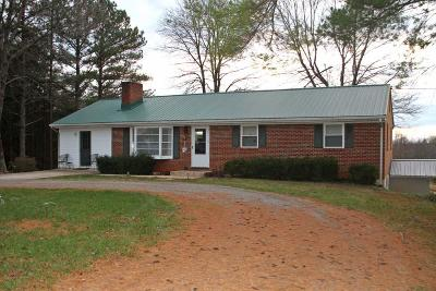 Bedford County Single Family Home For Sale: 1315 Rock Cliff Rd