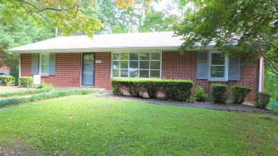 Rocky Mount Single Family Home For Sale: 505 Knollwood Dr
