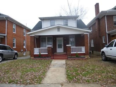 Roanoke Single Family Home For Sale: 1554 Langhorne St SE