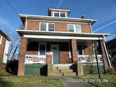 Roanoke VA Single Family Home For Sale: $64,950