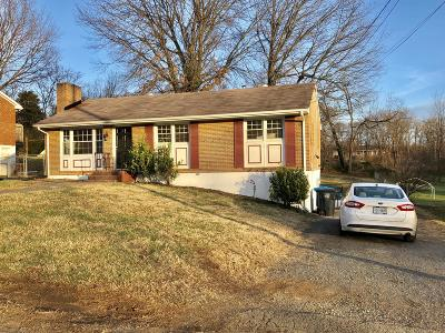Roanoke VA Single Family Home For Sale: $129,995