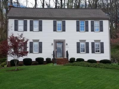 Roanoke County Single Family Home For Sale: 5222 Squires Ct