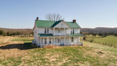 Botetourt County Single Family Home For Sale: 2422 Poor Farm Rd