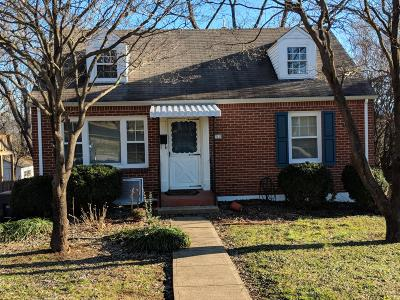 Roanoke City County Single Family Home For Sale: 3619 Sunrise Ave NW