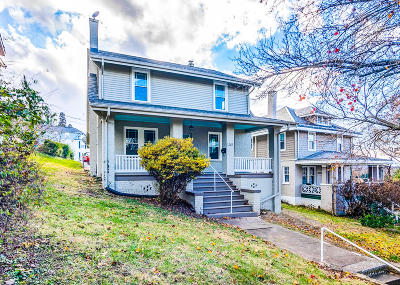 Roanoke City County Single Family Home For Sale: 505 Linden St SE