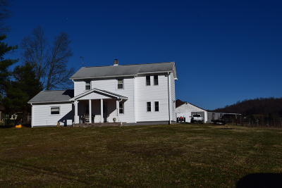 Single Family Home For Sale: 9736 Bent Mountain Rd