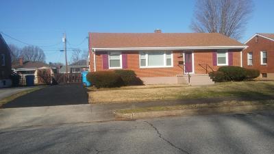 Roanoke City County Single Family Home For Sale: 132 Hurst Ave NE