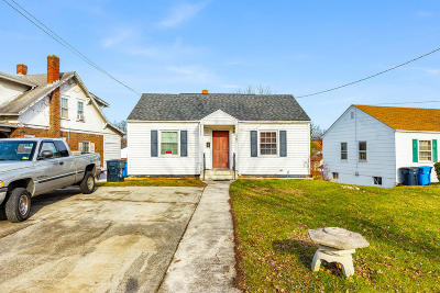 Roanoke Single Family Home For Sale: 1303 Rugby Blvd NW