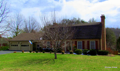 Roanoke Single Family Home For Sale: 6230 Fairway Forest Dr