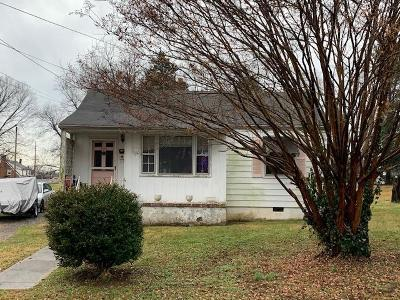 Roanoke Single Family Home For Sale: 4914 Hubert Rd NW