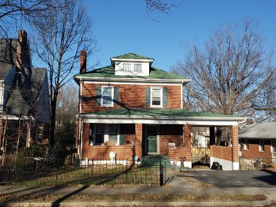 Roanoke Single Family Home For Sale: 3331 Valley View Ave NW