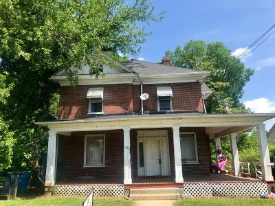 Roanoke Multi Family Home For Sale: 1327 Loudon Ave NW