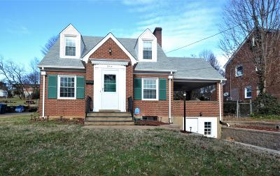Roanoke Single Family Home For Sale: 2414 Oakland Blvd NW