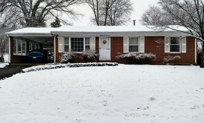 Roanoke Single Family Home For Sale: 2914 Dover Dr