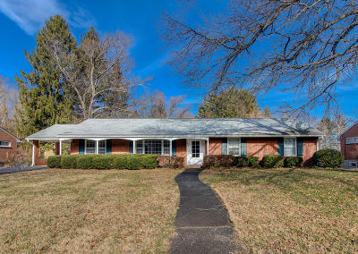 Roanoke County Single Family Home For Sale: 3807 Belle Meade Dr