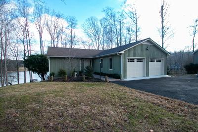 Bedford County, Franklin County, Pittsylvania County Single Family Home For Sale: 203 Rockfish Bay Dr