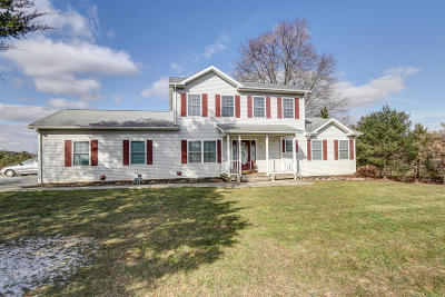 Bedford County Single Family Home For Sale: 2727 Crab Orchard Rd