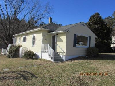 Roanoke City County Single Family Home For Sale: 3707 Bandy Rd
