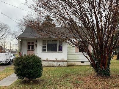 Roanoke City County Single Family Home For Sale: 4914 Hubert Rd NW