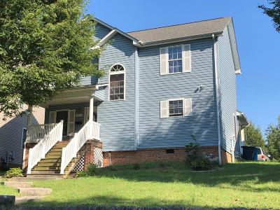 Roanoke City County Single Family Home For Sale: 1215 Melrose Ave NW